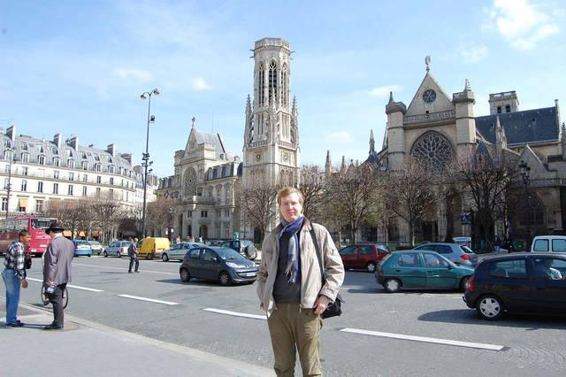 По дороге в Лувр