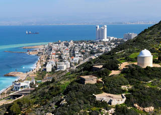 Хайфа, Средиземное море