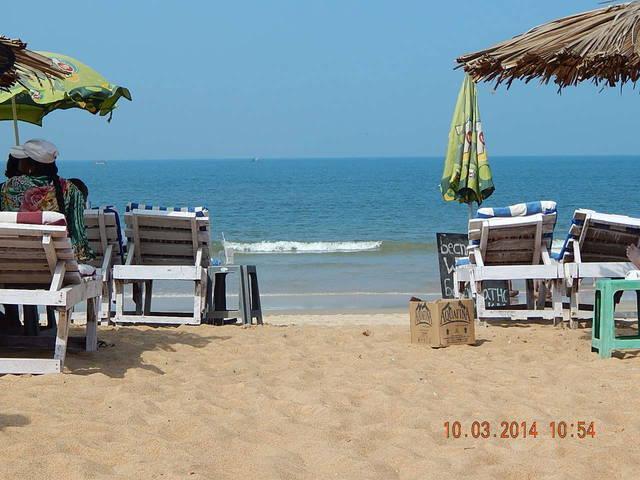 шейк в калангуте на пляже