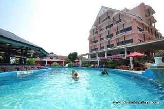 отель Eden Hotel Pattaya 3*