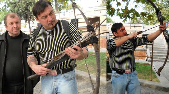 """""""...если дать мне волю, я бы купил и здоровенный лук со стрелами, и тяжёлый арбалетище..."""""""
