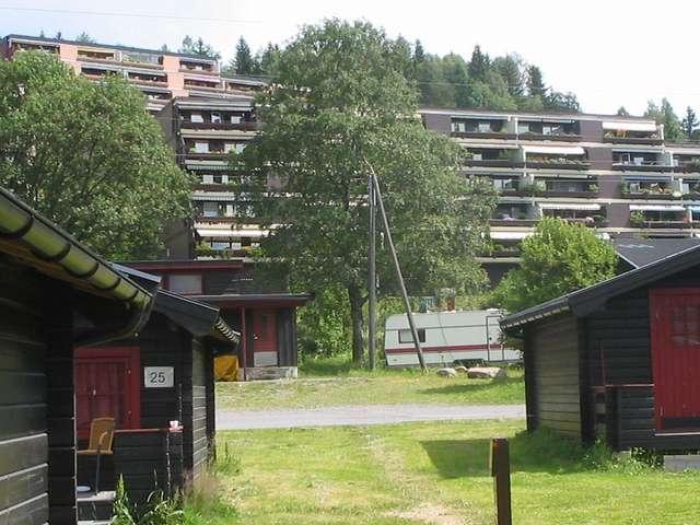 Кемпинг в Bogstad