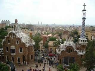 Парк Гауди в Барселоне