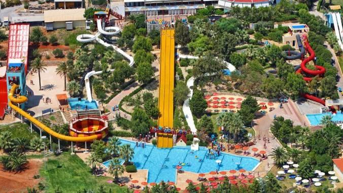 Аквапарк water city крит