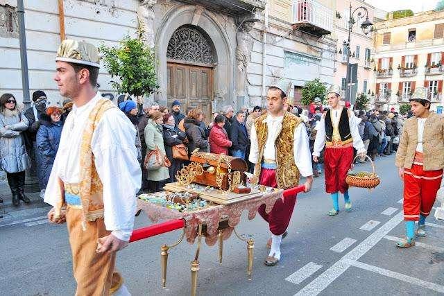 Празднование Епифании в Италии