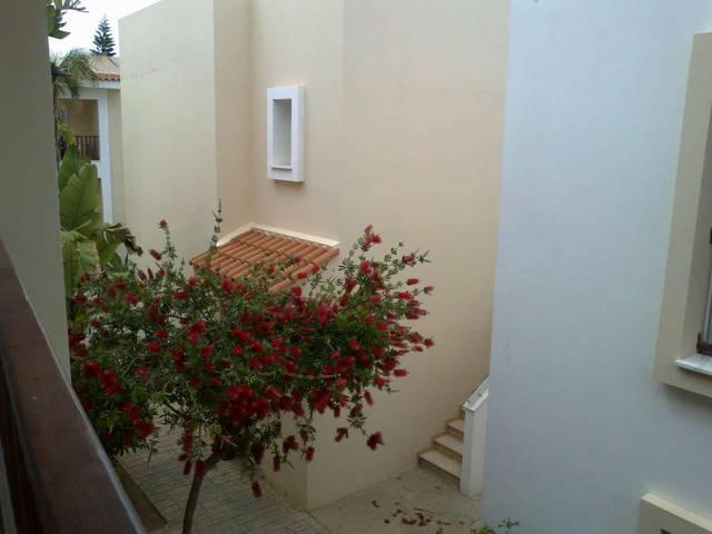 вид с балкона, рядом соседний коттедж