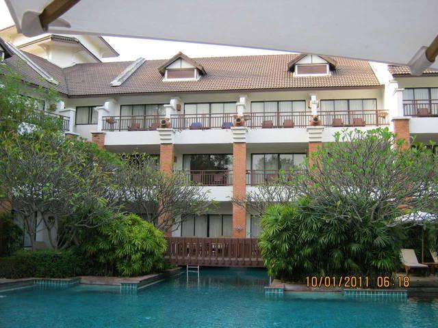 Один из корпусов отеля