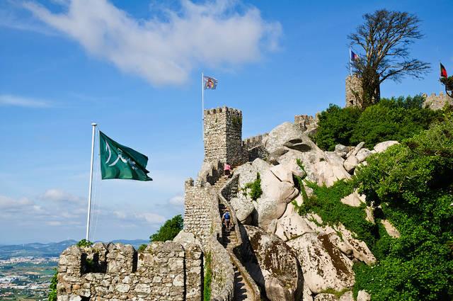 Мыс Рока, Синтра, Дворец Пена - достопримечательности Португалии.  Рассказы о Лиссабоне