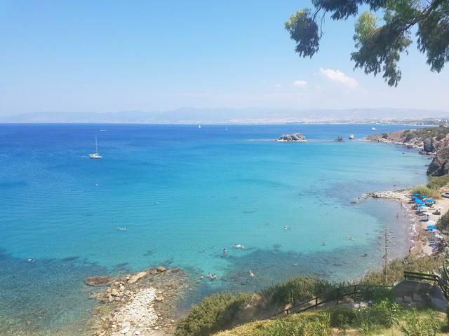 Кипр Айя-Напа, август выдался теплым и солнечным  Рассказы о Айя-Напе