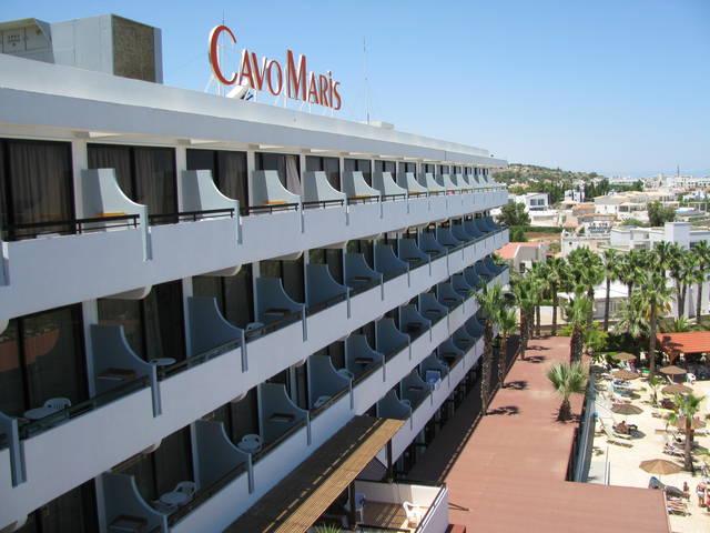 Спокойный отдых в отеле «Cavo Maris 3*» (Кипр, Протарас) в начале июня 2013 года  Рассказы о Протарасе