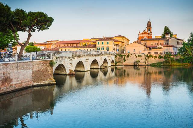 Семейный отдых в Римини в июле.  Рассказы о Римини и Равене