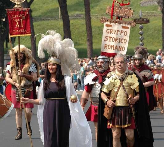 Празднование дня города в Риме