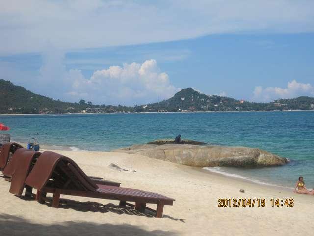 вид на наш пляж