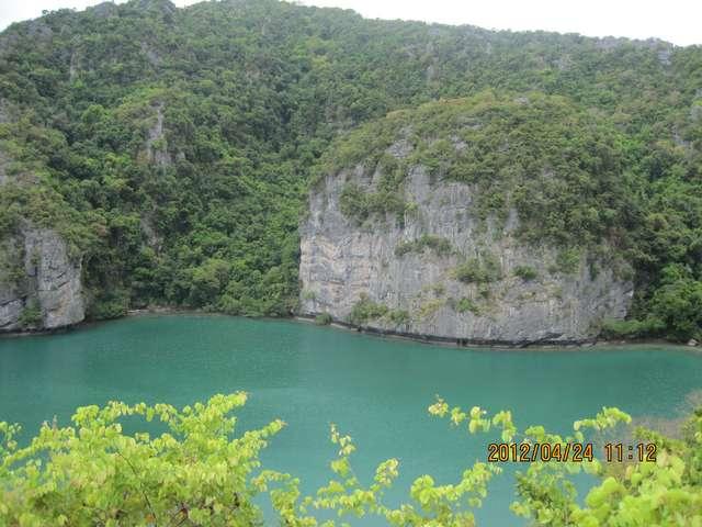 Озеро в национальном парке