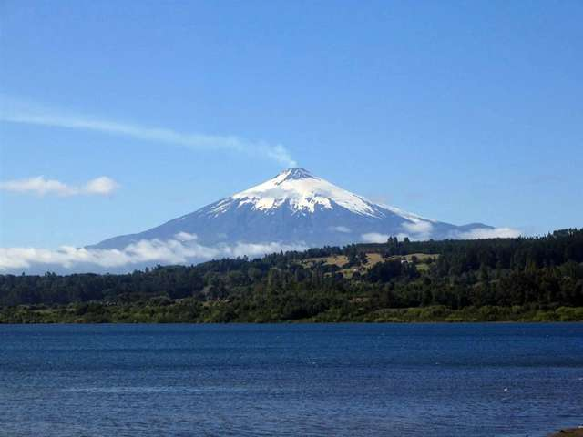 Чили, вулкан Вилларика